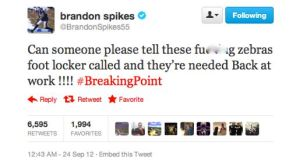 Brandon Spikes Twitter