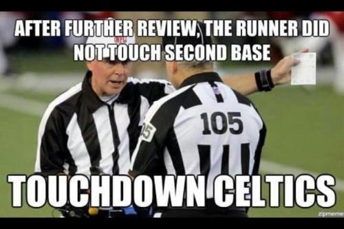 Touchdown Celtics