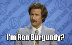 Ron Burgundy online identity crisis
