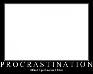 Procrastination Demotivation
