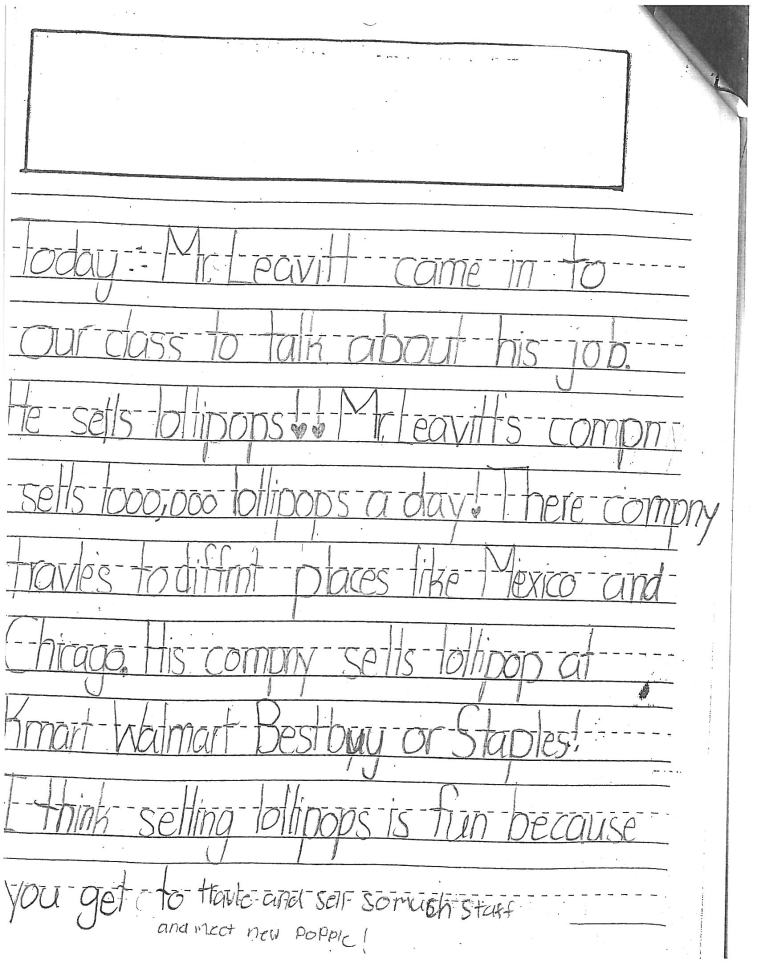 First Grade Job Description