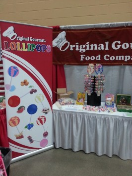 Original Gourmet Lollipops at HyVee Show